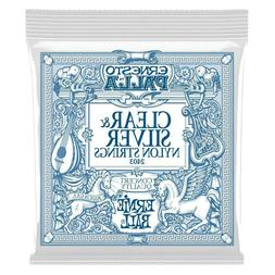 Ernie Ball 2403 Palla Nylon Classical Clear & Silver Medium