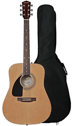 Fender FA-100 Dreadnought Acoustic Guitar with Gig Bag - Nat