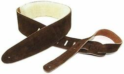 Perris Leathers DL325S-201 2.5-Inch Soft Suede Guitar Strap