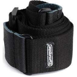 Dunlop D21-01BK Cotton Guitar Strap, Black