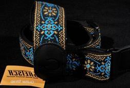 Gretsch G 922-0060-104 Brand Guitar Strap - Blue/Orange