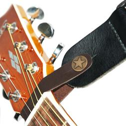 Genuine Leather Guitar Strap Button for Acoustic / Folk / Cl