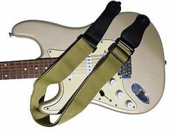Guitar Strap Tweed Acoustic Electric Soft Cotton Shoulder Vi