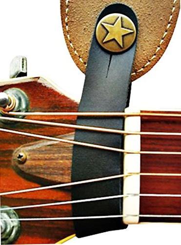 Brown Guitar Strap Hook Acoustic / Folk Guitar