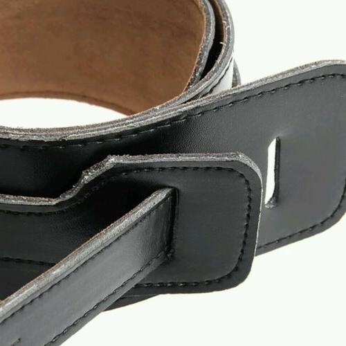 Perri's 2 Leather Guitar Strap with Black Suede Backing