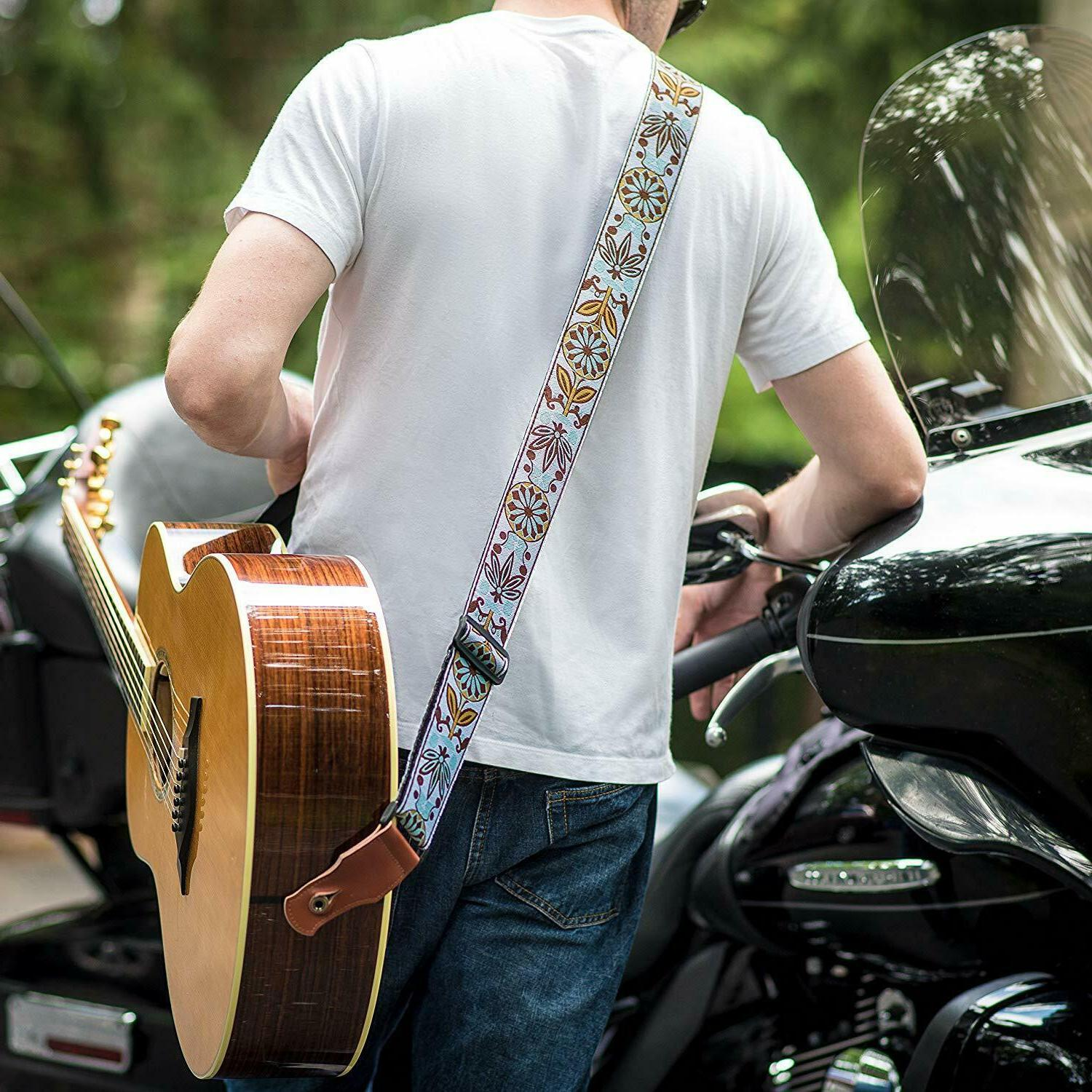 TIMBREGEAR extreme comfort guitar strap strap + free