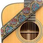 CLOUDMUSIC Guitar Straps Strap Jacquard Weave With Leather E