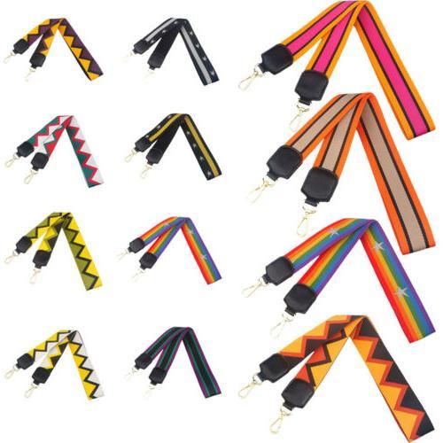 guitar style canvas purse bag strap belts