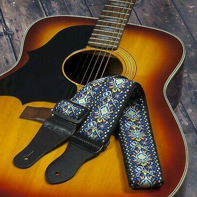 KLIQ Vintage Guitar Strap for Acoustic Electric   '60s Jacq...