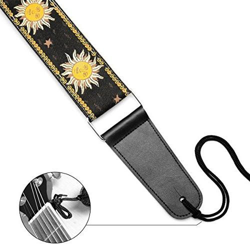 BestSounds Adjustable Guitar Strap, Weave Bass and Guitars,