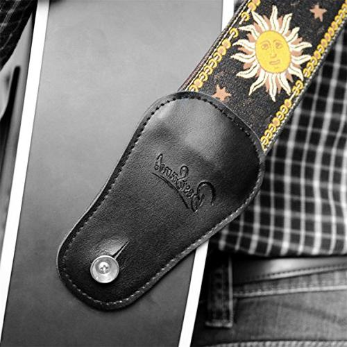 BestSounds Guitar Strap, Sun Weave and Acoustic