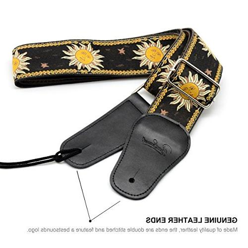 BestSounds Guitar Strap, Weave For Bass Electric and Acoustic