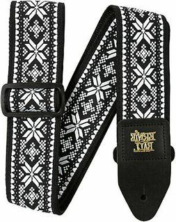Ernie Ball Midnight Blizzard Jacquard Guitar Strap