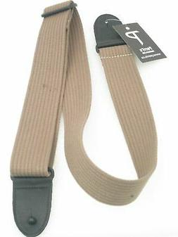 Perri's Leathers PC2P-1647 COTTON guitar strap with Deluxe g